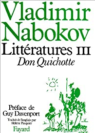 Littératures, tome 3 : Don Quichotte par Nabokov