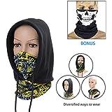 Balaclava Ski Mask, Shinymod Unisex UV Protection Full Winter Biker Snowboard Face Masker Motorcycle Black Baklava...