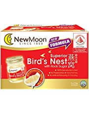 New Moon Superior Bird's Nest with Rock Sugar [Less Sugar] 75g (Pack of 6)