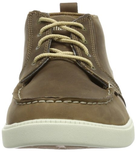 Timberland EKNMRKTLP CHK LT BRO LIGHT BROWN - Mocasines de cuero hombre marrón - Braun (LIGHT BROWN)