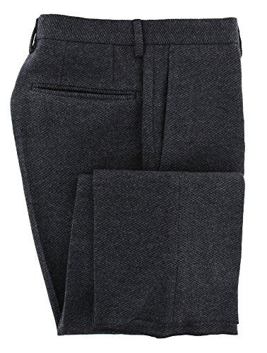 Incotex Dress Pants - Incotex Dark Gray Fancy Pants - Extra Slim - 40/56