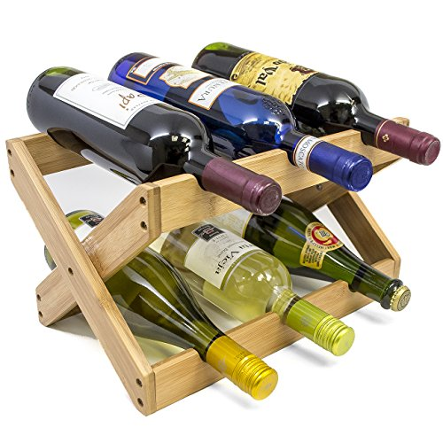 mini bar wine rack - 9