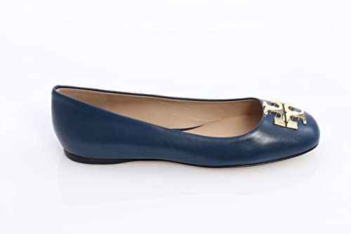 Tory Burch Ballerine Punta Quadrata Blu, Donna, Taglia 6.  Amazon.it ... 5d79f4cf42d1