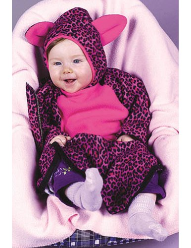 Pink Kitty Baby Bunting Costume (Pink Kitty Bunting)