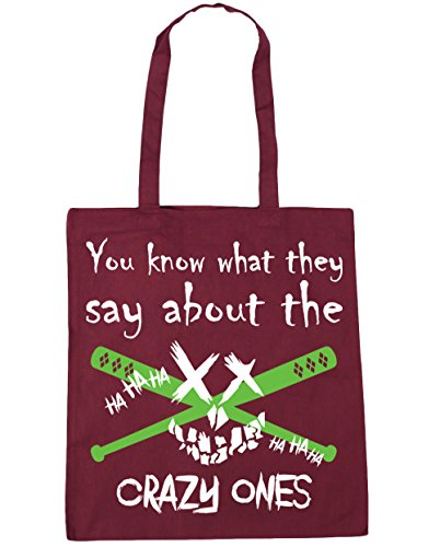 Tote They Ones Beach x38cm 10 About Gym The You Burgundy Say 42cm Bag Crazy What Shopping HippoWarehouse Know litres F8SwzBnxFq