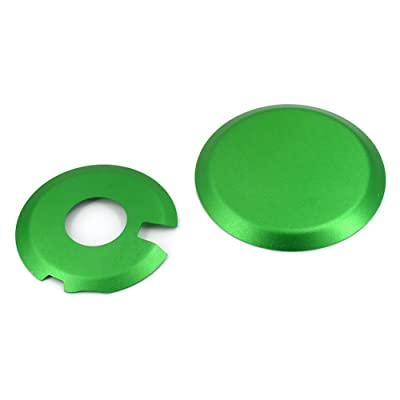 Engine Ignition Clutch Case Savers Guards Kit Protector Set Cover For Suzuki DR-Z400S DRZ400E DRZ400SM Kawasaki KLX400,Green: Automotive