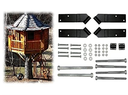 Amazon.com: 8 Foot Octagon Treehouse Kit: Toys & Games on toy train plans, toy school house plans, toy dollhouse furniture, toy wood plans, toy kitchen plans, tiny house plans, toy dog house plans, deck plans, wooden doll house plans, wooden toy airplane plans, toy castle plans, toy boat plans, toy wooden tree houses,