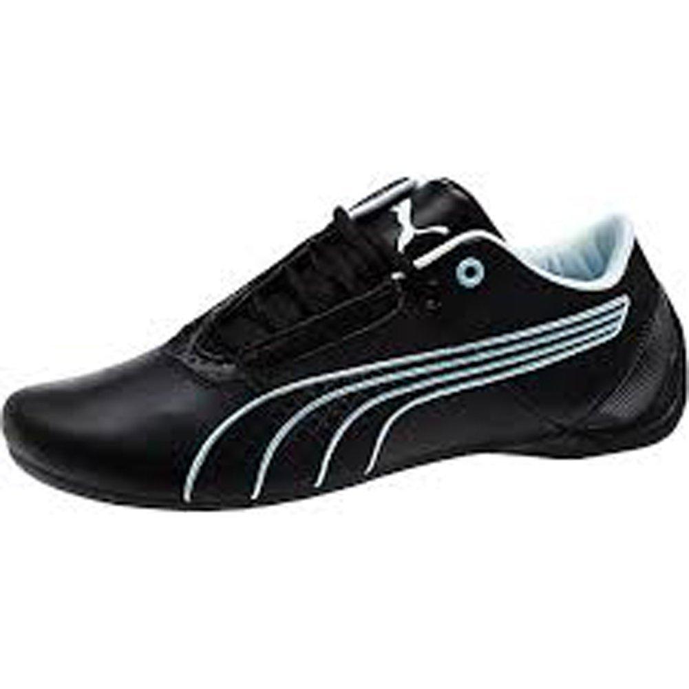 PUMA Womens Future Cat S1 Fast Shoes Black-Black-Omphalodes (US 10 ... 1f10570ab9
