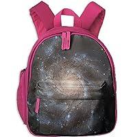 Galaxy Kids School Bag Travel Backpack Bookbags For Little Boys Girls