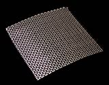 Woven Wire Mesh, 10 mesh (Stainless Steel 304L) – 2mm Aperture – By Inoxia Cut Size: 30cmx30cm