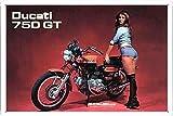 Ducati 750GT Motorcycle 7.8