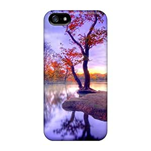 For Iphone Case, High Quality Magnificant Autumn Silance Hdr For Iphone 5/5s Cover Cases