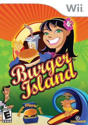 Burger Island - Nintendo Wii - Game Burgers Wild