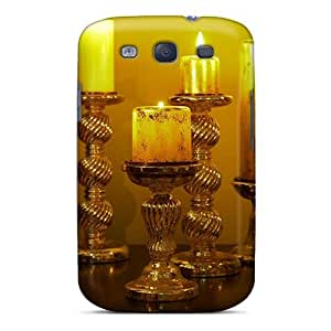 Galaxy S3 Case, Premium Protective Case With Awesome Look - Candles