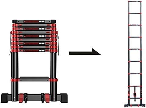 Escaleras de tijera Escalera Telescópica Multifuncional Con Polea Escalera Recta Aleación De Aluminio Gruesa Escalera Plegable Elevador De Viviendas Edificio De Ingeniería Escalera (Size : 3.9m): Amazon.es: Bricolaje y herramientas