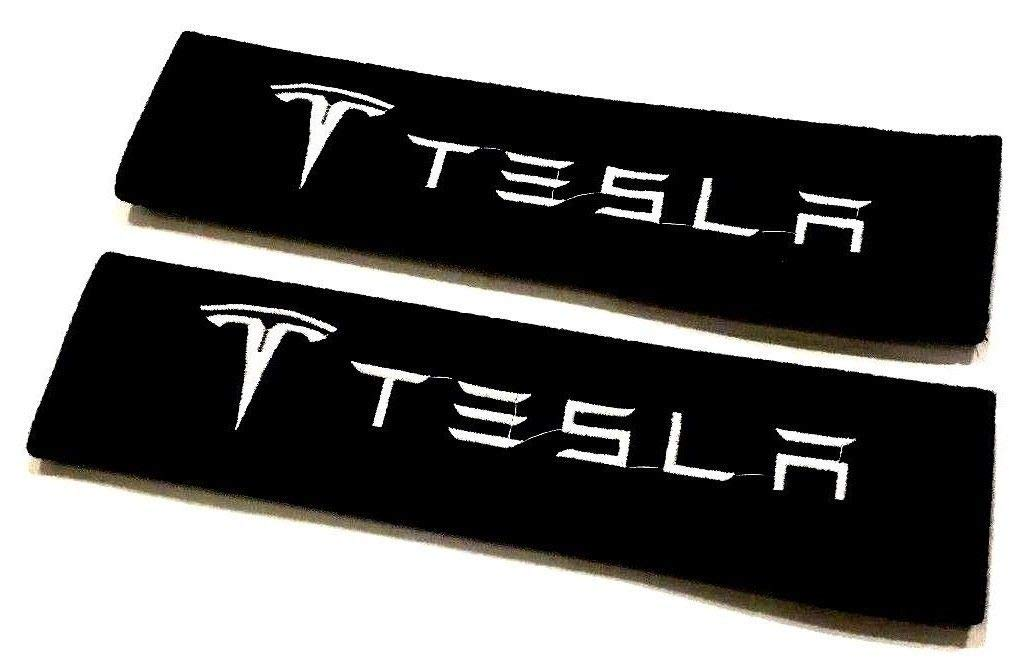 Car Accessory Warehouse Exclusive Product - Tesla Seat Belt Shoulder Pad Custom Automotive Seatbelt Pads Padded Padding
