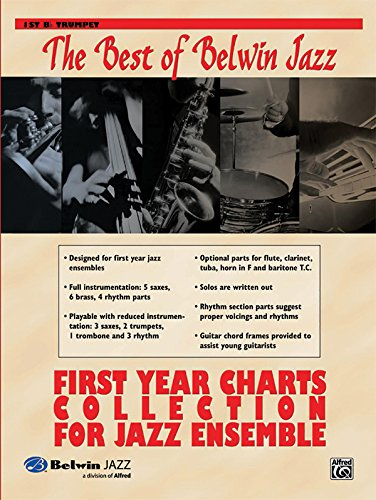 First Year Charts Collection for Jazz Ensemble: 1st B-flat Trumpet