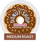 The Original Donut Shop Coffee, Regular Medium Roast, K-Cup Portion Count for Keurig Brewers 24-Count (Pack of 4)