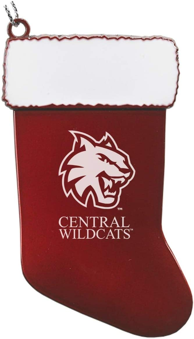 LXG, Inc. Central Washington University - Chirstmas Holiday Stocking Ornament - Red