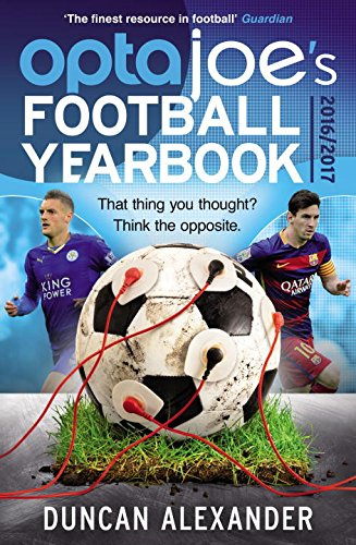 OptaJoe's Football Yearbook 2016: That Thing You Thought? Think the Opposite., by Duncan Alexander