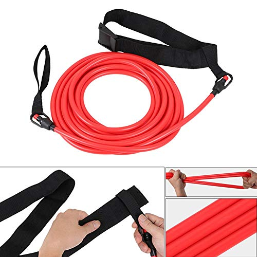 Rundaotong-US -Elastic Traction Belt Professional Swimming Training Speed Trainer Silicone Puller Water Traction Rope for Swimmer- by Rundaotong-US (Image #3)