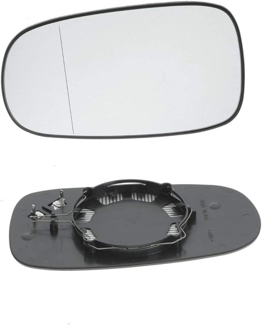 NO LOGO FJY-Printemps Droite Gauche c/ôt/é Passager R/étroviseur Chauffant /électrique en Verre for Saab 9-3 93 2003-2010 9-5 2003-2008 Pi/èces de Rechange Accessorie Taille : Left