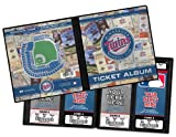Minnesota Twins Ticket Album, Holds 64 Tickets