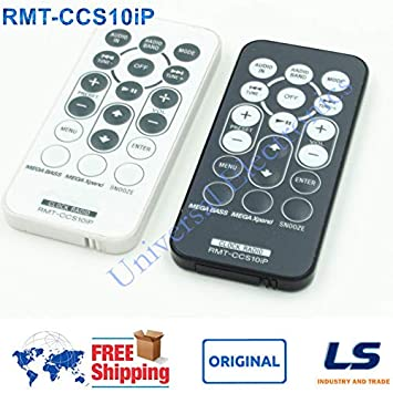 Calvas For Sony RMT-CCS10iP Radio Alarm Clock Remote Control