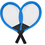 Blue Tennis Bouncy Ball Set Racket Badminton Racket Tennis Racket Ball Toys