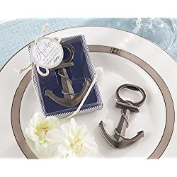 Anchor Nautical-Themed Bottle Opener [SET OF 24] by Kate Aspen, Inc. Wedding Favors
