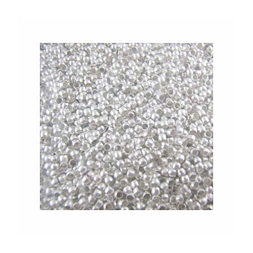 800 Crimp Beads - 3mm Shiny Silver Plated Lead Free Alloy ()