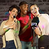 Karaoke Machine - Full Karaoke System with Wireless Bluetooth Speaker and Microphone.from Singsation - Works with All Karaoke Apps via Smartphone or Tablet