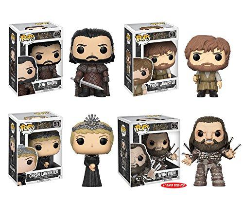 Funko Game of Thrones Pop Collectors Set Jon Snow, Tyrion, C