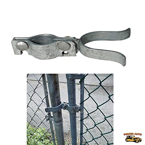 Chain Link Fence Gate Latch - Chain-Link Fork Latch Repair Kit For 1 3/8