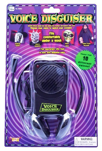 Voice Changer Halloween Novelty With 5 (Halloween Voice Changer)