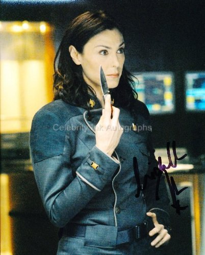 MICHELLE FORBES as Admiral Helena Cain - Battlestar Galactica Genuine Autograph from Celebrity Ink