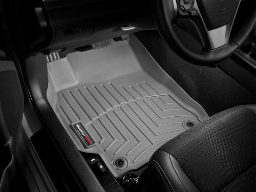 2012 Passenger /& Rear Floor 2014 Acura TL Black with Red Edging Driver 2010 GGBAILEY D4593A-S2A-BLK/_BR Custom Fit Car Mats for 2009 2013 2011