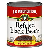 La Preferida Refried Black Beans, 30-Ounce Can (Pack of 12)