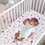 Bedtime-Originals-Blossom-Pink-Watercolor-Floral-3-Piece-Baby-Crib-Bedding-Set