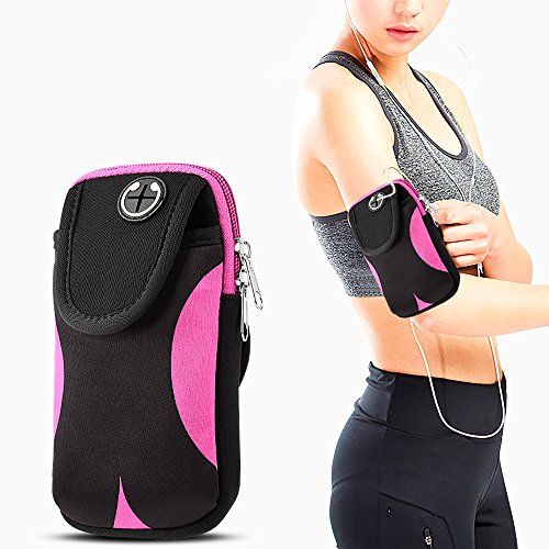 Sport Armband arm bag for iphone 7 plus,kiwitatá Universal Outdoor Multifunctional Exercise Phone Holder Case Gym Pocket Armband for iphone X iphone 8,6,6 plus,6s,6s plus