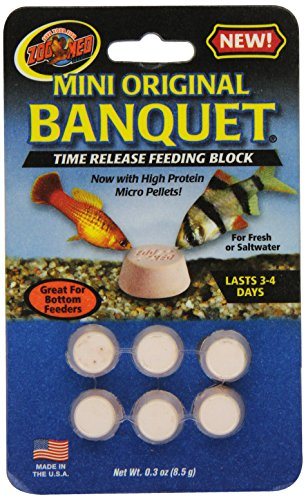Zoo Med Laboratories AZMBB2 Mini Banquet Block Feeders