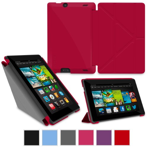 rooCASE Amazon Kindle Fire HD 7 Case  Origami Slim Shell 7-Inch 7