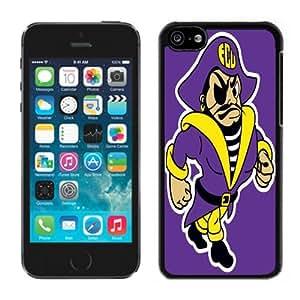 MMZ DIY PHONE CASEEast Carolina Pirates 03 Black Hard Plastic iphone 6 plus 5.5 inch Phone Cover Case