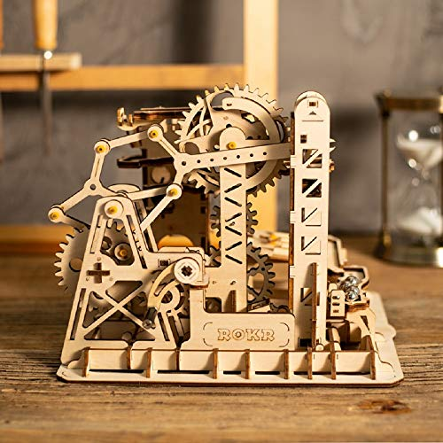 Zhenyu Toys Hobbies 3D Wooden Puzzle Games Popular Children Educational Model Building Kits Marble Run Construction Set from Zhenyu