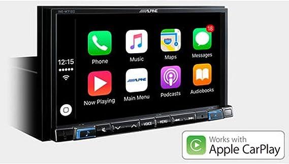 Alpine Ine W710d Fixed 7zoll Lcd Touchscreen Schwarz Navigationssystem Navigationssysteme Osteuropa Westeuropa 3 Jahr E 17 8 Cm 7 Zoll 800 X 480 Pixel Lcd 2 1 Edr Navigation