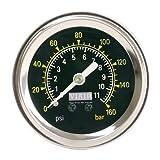"""Viair 90085 160 PSI 1.5"""" Single Needle Air Gauge"""