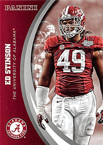 Collection Stinson - Ed Stinson football card (Alabama Crimson Tide) 2015 Panini Team Collection #31