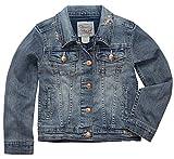 Levi's Girls Denim Trucker Jackets,Weathered