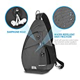 Sling Backpack WATERFLY Sling Bag Small Crossbody