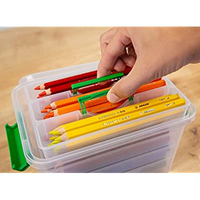Jolly X-Big Jumbo Colored Pencils Kindergarten Tote; Set of 96, Perfect for Special Needs, Art Therapy, Preschool and Early Learners: Toys & Games